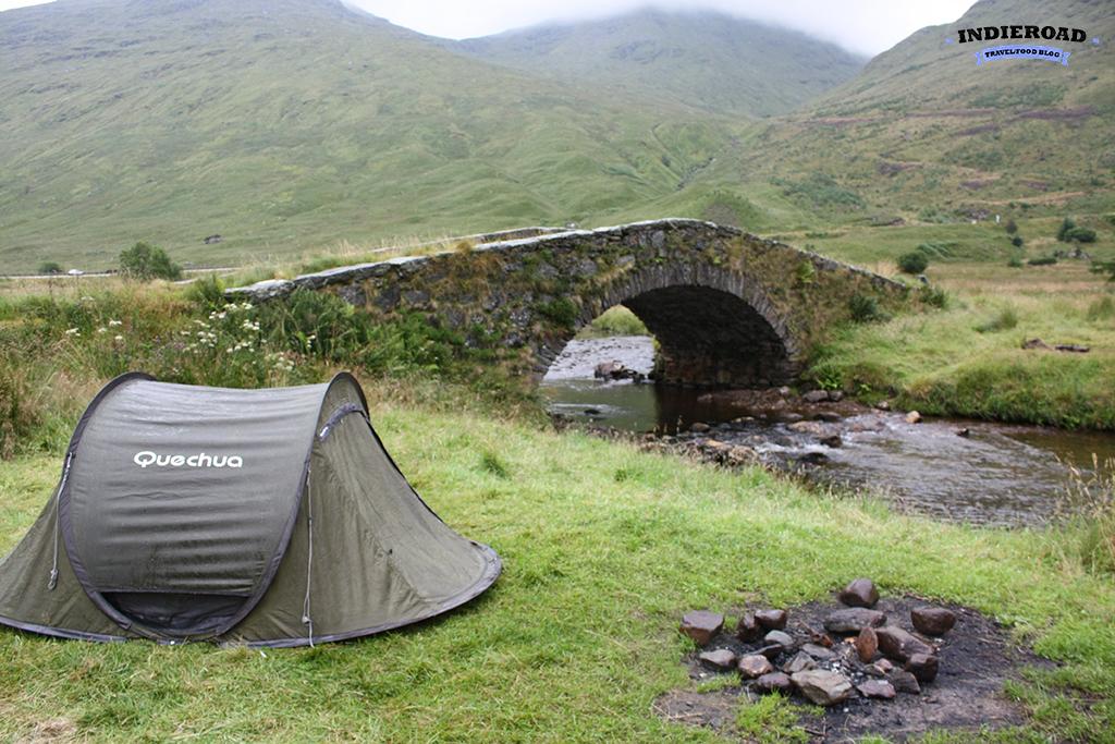 tenda scozia glencoe