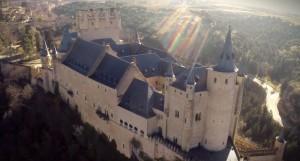 Alcazar di Segovia Spagna