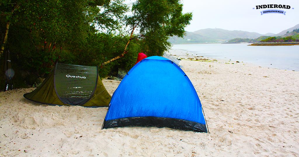 consigli campeggio tenda scozia
