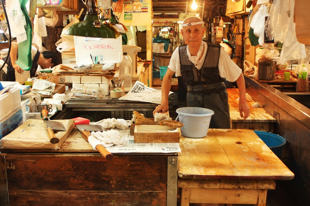 mercato del pesce fish market tokyo giappone 7