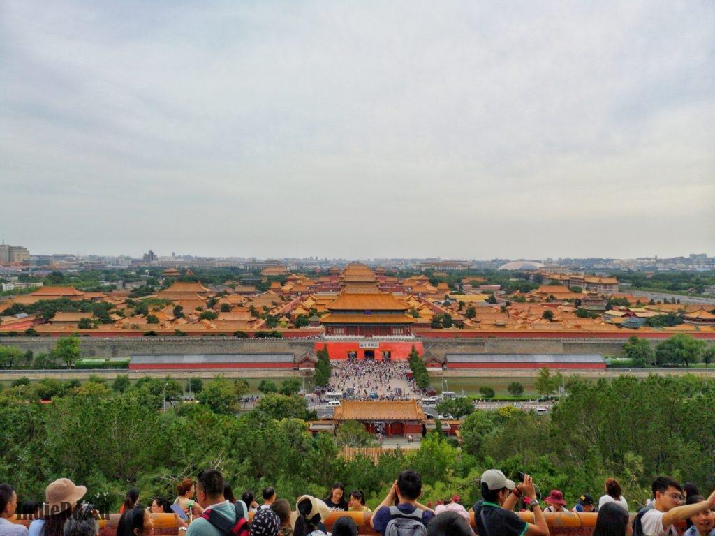 città proibita pechino durante scalo aeroporto