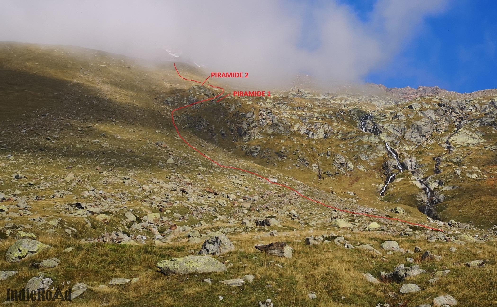 CAPANNA Resegotti monte rosa gpx trekking
