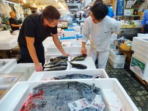 mercato del pesce fish market tokyo giappone 1